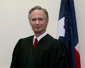County Court at Law Judge Danel W. Leedy